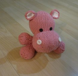 Knitkinz Hippo for Your Office