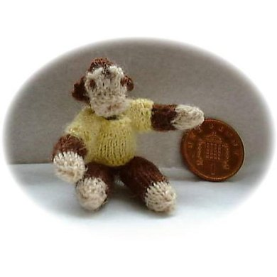 1:12th scale monkey toy