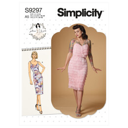 Simplicity Misses' Dress S9297 - Sewing Pattern