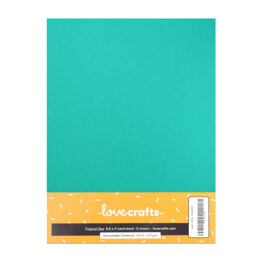 "LoveCrafts Heavyweight Cardstock 100lb 8.5"" x 11"" 10 Pack"
