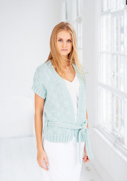 Cardigan and Waistcoat in Rico Fashion Jersey - 437 - Downloadable PDF
