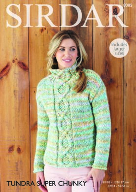 a5903a88fd8a Sweater in Sirdar Tundra Super Chunky - 8085 - Downloadable PDF