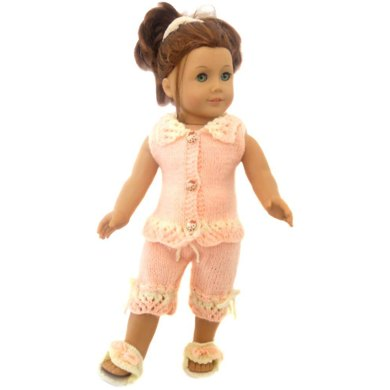 Summer jammies for ag , gotz and 18'' dolls