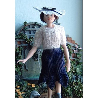 1:12th scale 1934 skirt and jumper