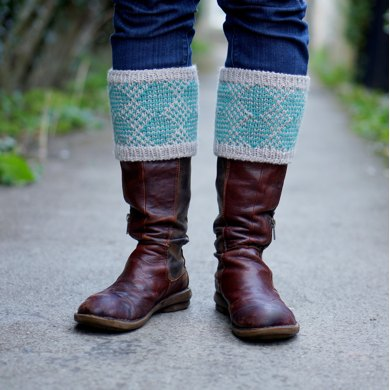 Norfolk Boot Toppers Knitting Pattern By Kate Bostwick
