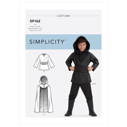 Simplicity Children's Costumes S9162 - Sewing Pattern