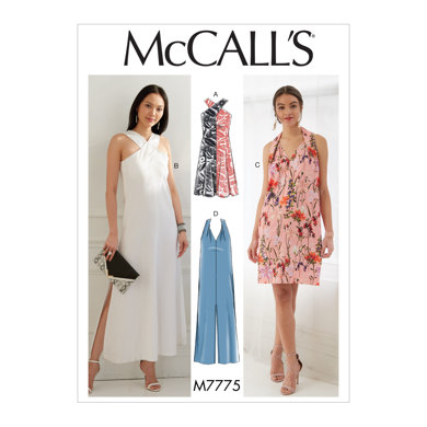 McCall's Misses' Dresses M7775 - Sewing Pattern
