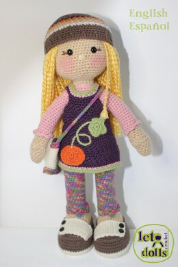 Gabi Large Doll Pattern