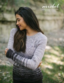 Arrebol Sweater in Malabrigo Rios - Downloadable PDF