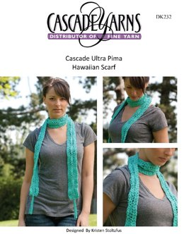 ... crochet patterns Browse now · Hawaiin Scarf in Cascade Ultra Pima -  DK232 e2259e600