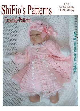ed1b282af352 Summer Satin Dress Baby Crochet Pattern  13 Crochet pattern by ...