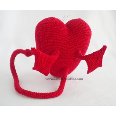021 Heart with wings and tail Ravelry