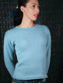 Complimentary Sweater in UK Alpaca Super Fine DK - Downloadable PDF