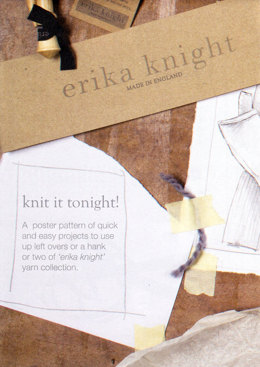 Knit it Tonight Poster by Erika Knight