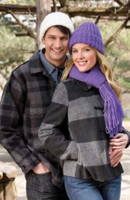 Ribbed Hat and Scarf in Red Heart With Love Solids - 928.0688. Free. Free  pattern 93e75bd1bcc