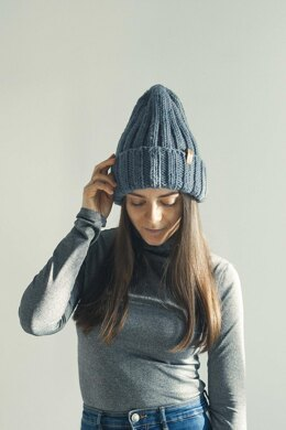 2x2 High Top Hat Ribbed hat, Fisherman Beanie + VIDEO