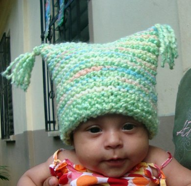 92ad334375c GARTER STITCH BABY BLANKET   HAT Knitting pattern by Terry ...