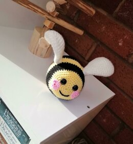 Bumble Bee Amigurumi Doll