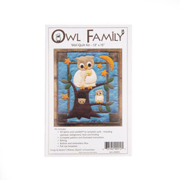 Rachel's Of Greenfield Owl Family Quilt Kit