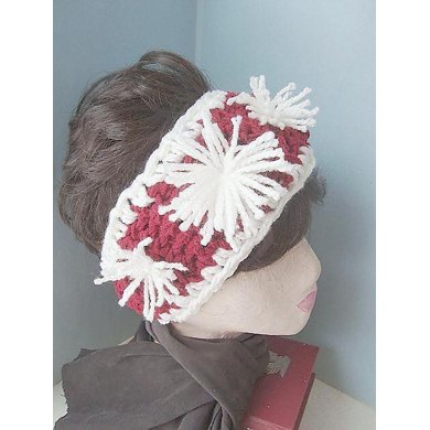Ski Bunny Headband | Crochet Pattern  by Ashton11