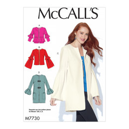 McCall's Misses' Jackets M7730 - Sewing Pattern