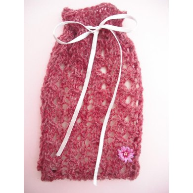 Tiny lacy gift bag