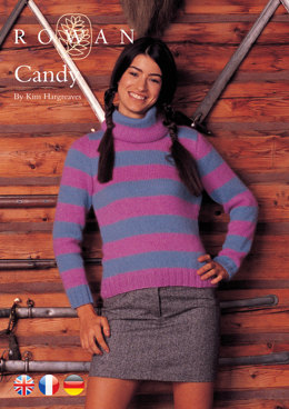 Candy Sweater in Rowan Kid Classic