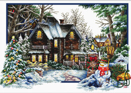 Needleart World Winter Comes No-Count Cross Stitch Kit