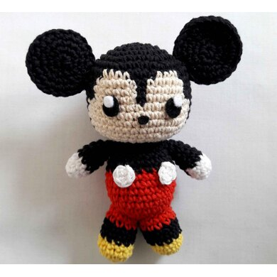 Mickey Mouse Bonnie - Crochet Pattern » No.1 By HavvaDesigns | 390x390