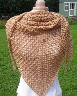 The warm way shawl