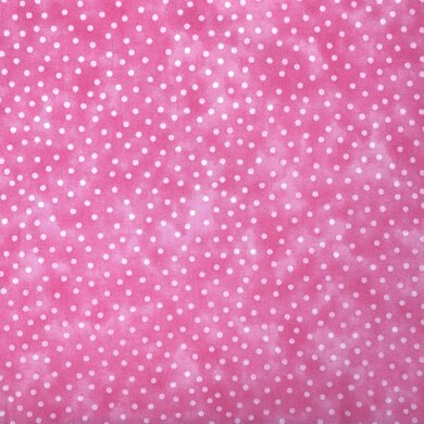 Craft Cotton Company Textured Spots - Baby Pink