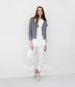 Fringe Edged Jacket in Debbie Bliss Juliet - DB020 - Leaflet