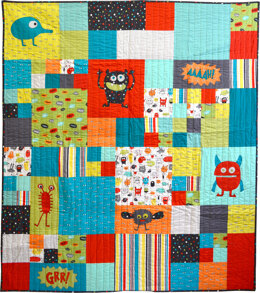 Michael Miller Fabrics Monster Mash - Downloadable PDF