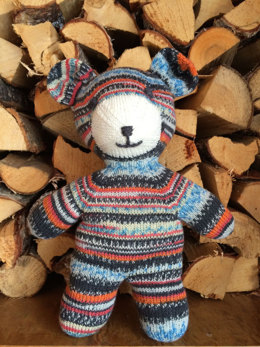 Teddy in Regia 4 Ply 50g and Design Line by Arne & Carlos - 6369 - Downloadable PDF