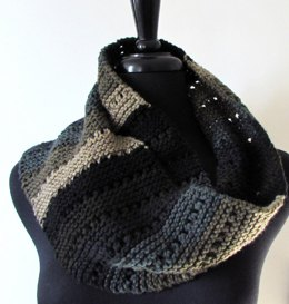 Dotted Stripes Scarf