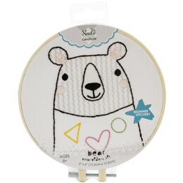 Needle Creations Easy Stitch Kits - Bear - 6in