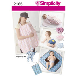 Simplicity Baby Accessories 2165 - Paper Pattern, Size A (ALL SIZES)