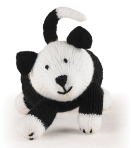 Knitted Farm Animals Sheepdog in Lion Brand Vanna's Choice
