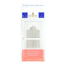 DMC Box of 12 x 16 Embroidery Needles (5-10)