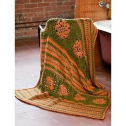 Earthbound Throw in Bernat Vickie Howell Sheep-ish - Downloadable PDF