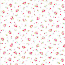 Moda Fabrics First Romance Sugar Plum Floral Cut to Length - Corsage