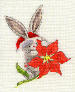 Bothy Threads Poinsettia - Bebunni Cross Stitch Kit