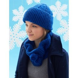 Cowl and Hat in Bernat Softee Chunky