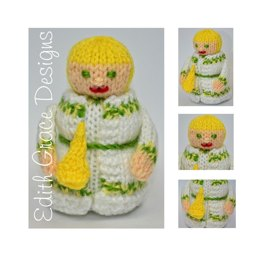Ghost of Christmas Past Doll - Toy Knitting Pattern