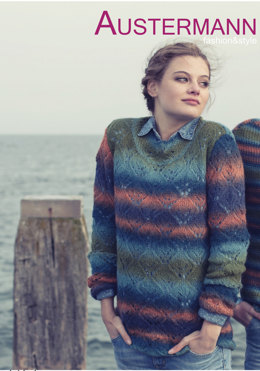 Ladies' Pullover in Austermann Caleido - 132044