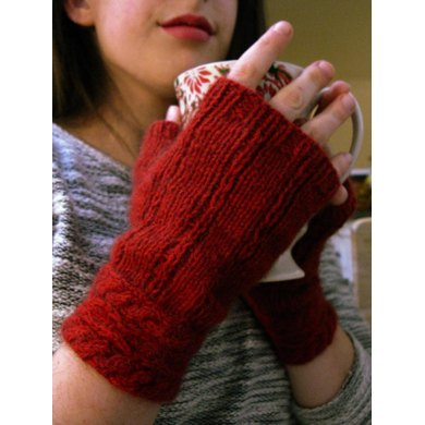 Spiced Cider Mitts