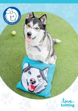 Theo the Dog Pillow for Battersea