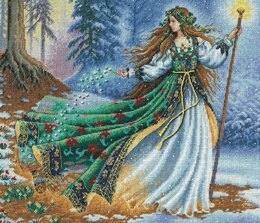 Dimensions Woodland Enchantress Cross Stitch Kit - 36cm x 30cm