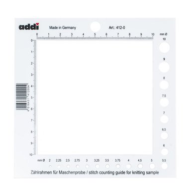 Addi Counting Frame and Needle Gauge