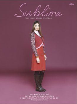 The Ninth Sublime Extra Fine Merino DK Book